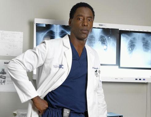 Actor Isaiah Washington Greys Anatomy