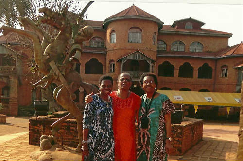 African Americans, Bamoum Palace, Cameroon