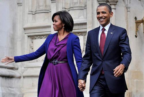 Michelle Obama in Roksanda