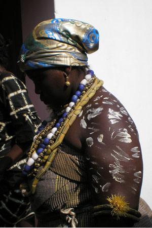 Woman in Volta Region, Ghana