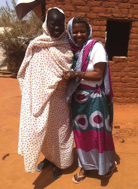 Nubian women