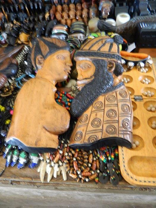 handmade carvings